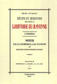 L'histoire de Bayonne - 1er fascicule