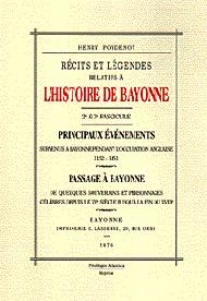 L'histoire de Bayonne - 2e et 3e fascicule