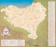 Carte des fêtes du Pays basque (trilingue)